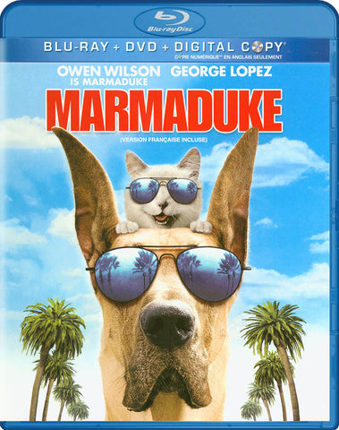 Marmaduke (Blu-ray+DVD+Digital Copy) (Blu-ray) (Bilingual) BLU-RAY Movie