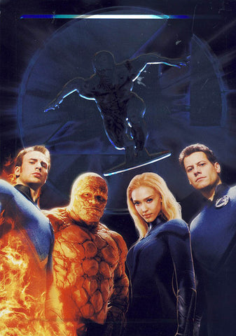 Fantastic 4 Rise of the Silver Surfer (Steelcase) (Bilingual) DVD Movie