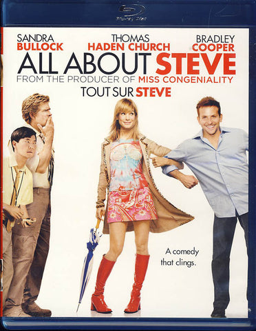 All About Steve (Blu-ray) (Billingual) BLU-RAY Movie