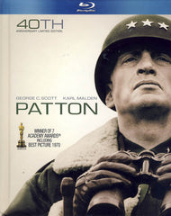 Patton BD+Book (Blu-ray) (Bilingual)