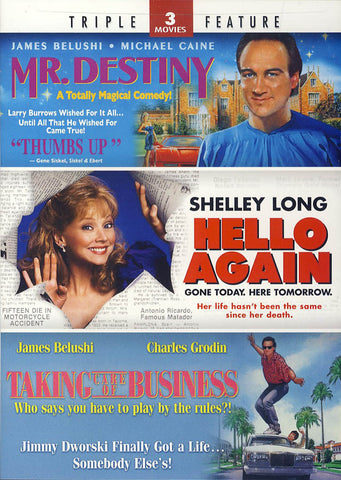 Mr. Destiny/Hello Again/Taking Care of Business (Triple Feature) DVD Movie