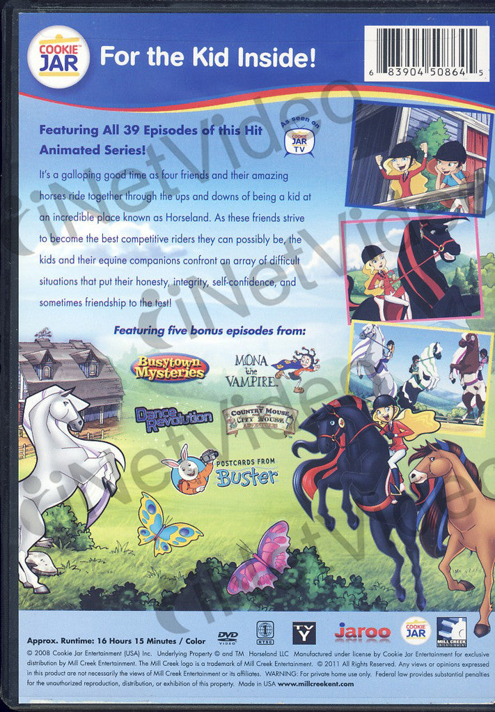 Horseland - The Complete Series on DVD Movie
