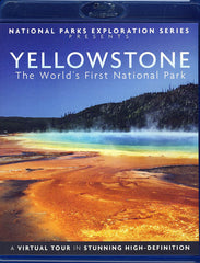 National Parks Exploration Series - Yellowstone - The World's First National Park (Blu-ray)