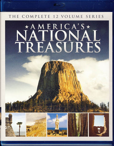 America s National Treasures (Blu-ray) BLU-RAY Movie
