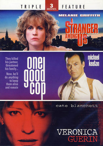 A Stranger Among Us/One Good Cop/Veronica Guerin (Triple Feature) DVD Movie