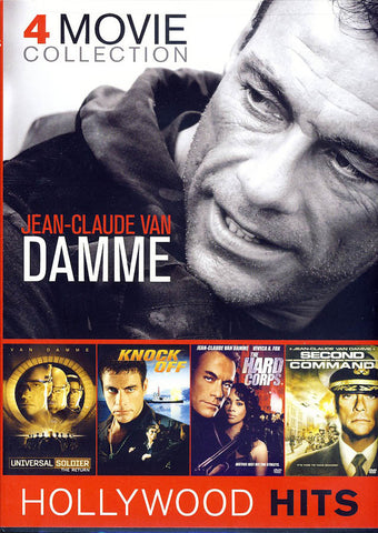 The Jean-Claude Van Damme 4 Movie Collection DVD Movie