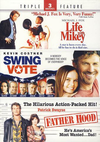 Life With Mikey/Swing Vote/Father Hood(Triple Feature) DVD Movie