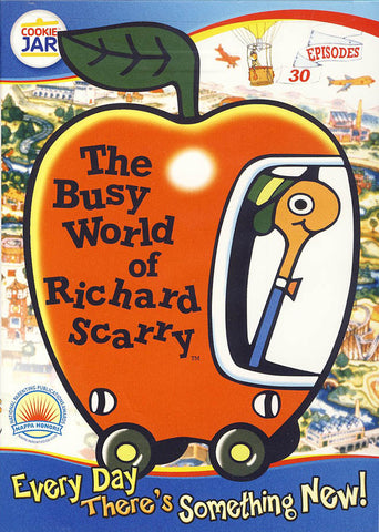 The Busy World of Richard Scarry: Every Day There's Something New (Limit 1 copy) DVD Movie