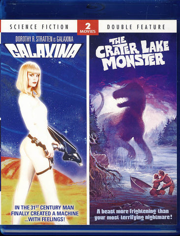 Galaxina / Crater Lake Monster - Double Feature (Blu-ray) BLU-RAY Movie