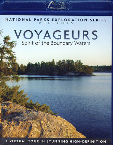 Voyageurs - Spirit of the Boundary Waters (Blu-ray) BLU-RAY Movie