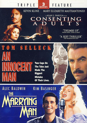 Consenting Adults / An Innocent Man / The Marrying Man DVD Movie
