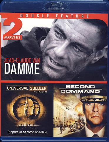 Universal Soldier: The Return/Second in Command (Blu-ray) BLU-RAY Movie