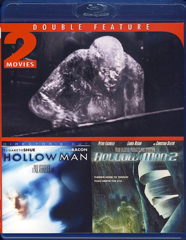 Hollow Man/Hollow Man 2 (Double Feature)(Blu-ray) BLU-RAY Movie