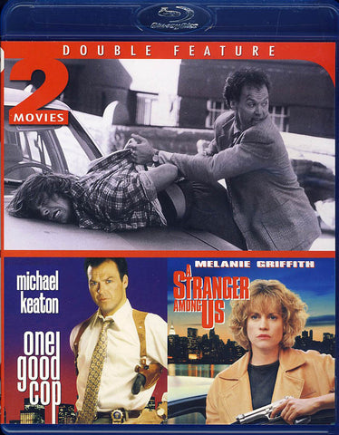 One Good Cop & A Stranger Among Us (Blu-ray) (Double Feature) (Limit 1 copy) BLU-RAY Movie
