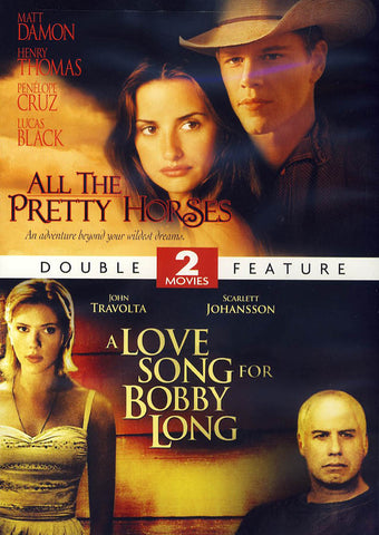 All The Pretty Horses/A Love Song for Bobby Long (Double Feature) DVD Movie