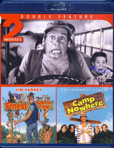 Ernest Goes To Camp/Camp Nowhere (Blu-ray)(Double Feature) BLU-RAY Movie