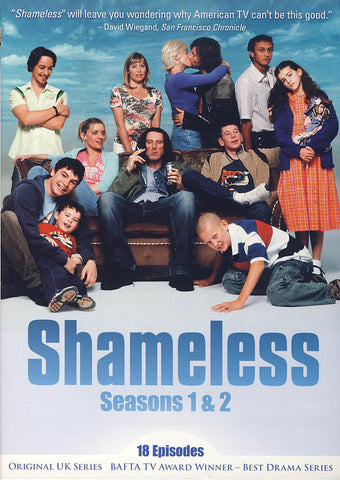 Shameless - Seasons 1+2 (Original UK Series) (Boxset) DVD Movie