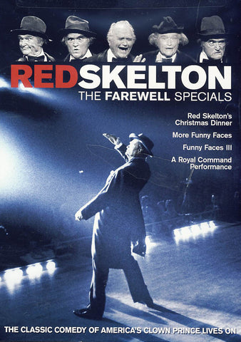 Red Skelton - The Farewell Specials DVD Movie