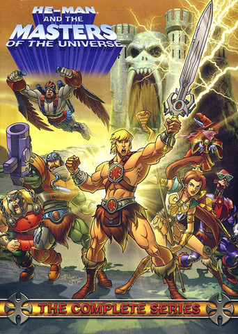 He-Man and the Masters of the Universe: The Complete Series(Boxset) DVD Movie