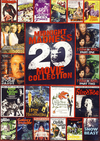 Midnight Madness - 20 Movie Collection (Boxset) DVD Movie