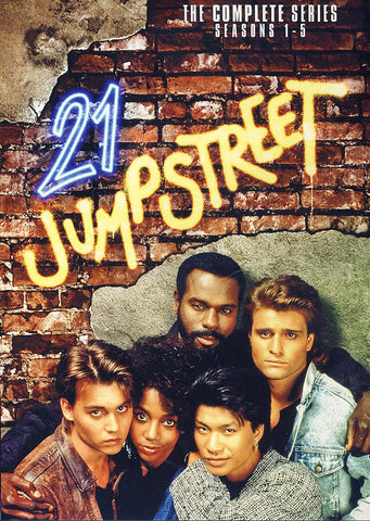 21 Jump Street: The Complete Series (Seasons 1-5) (Boxset) DVD Movie