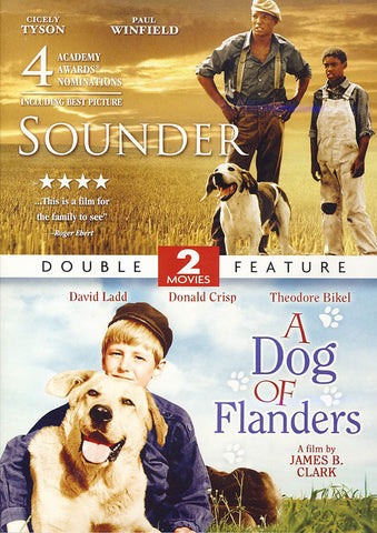 Sounder / A Dog Of Flanders (2 Movies Double Feature) DVD Movie