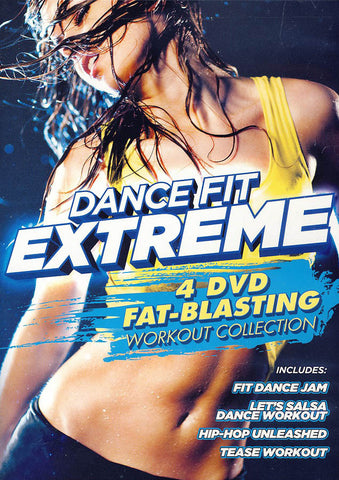 Dance Fit Extreme - 4 Fat Blasting Workouts DVD Movie