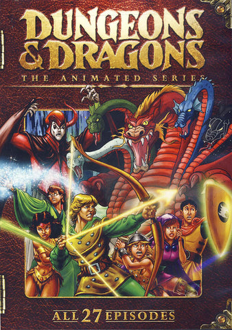 Dungeons & Dragons: The Complete Animated Series DVD Movie