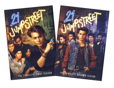 21 Jump Street: The Complete First and Second Seasons (2-Pack)(Boxset) DVD Movie