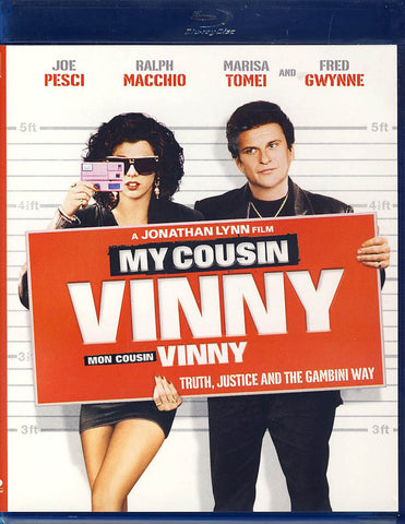 My Cousin Vinny (Blu-ray) (Bilingual) BLU-RAY Movie