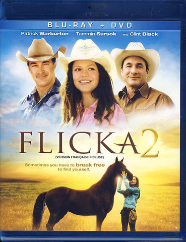 Flicka 2 (Blu-ray + DVD) (Blu-ray) (Bilingual) BLU-RAY Movie