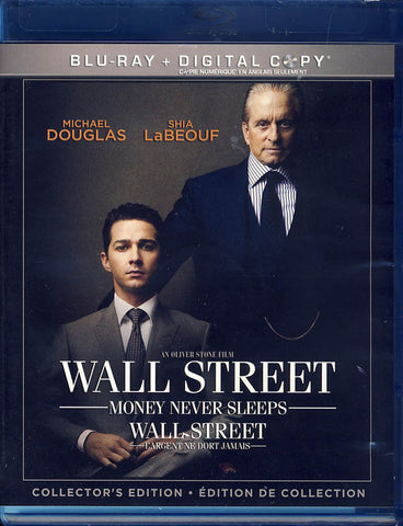 Wall Street 2: Money Never Sleeps (Blu-Ray+Digital Copy) (Blu-ray) (Bilingual) BLU-RAY Movie