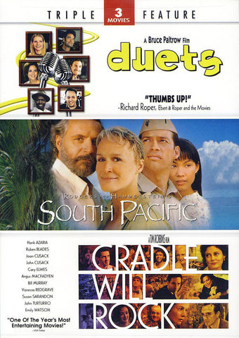 Duets / South Pacific / Cradle Will Rock (Triple Feature) DVD Movie