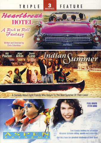Heartbreak Hotel/Indian Summer/Aspen Extreme Triple Feature DVD Movie