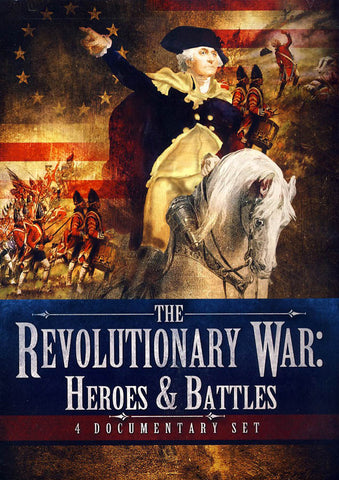 Revolutionary War - Heroes & Battles DVD Movie