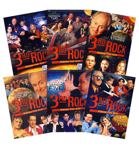 3rd Rock From The Sun - The Complete Series (Boxset) DVD Movie