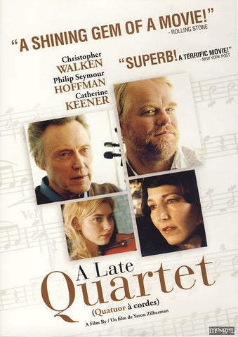 A Late Quartet DVD Movie