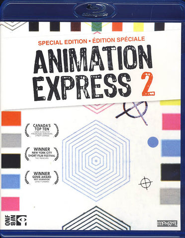 Animation Express 2 (Bilingual)(Blu-ray) BLU-RAY Movie