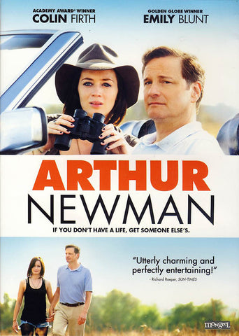 Arthur Newman DVD Movie