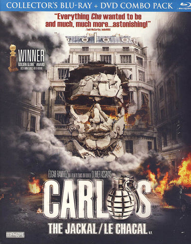 Carlos the Jackal (Blu-ray+DVD)(Bilingual)(Blu-ray) BLU-RAY Movie