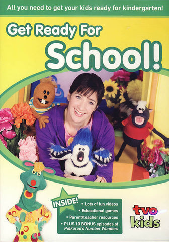 Get Ready for School! DVD Movie