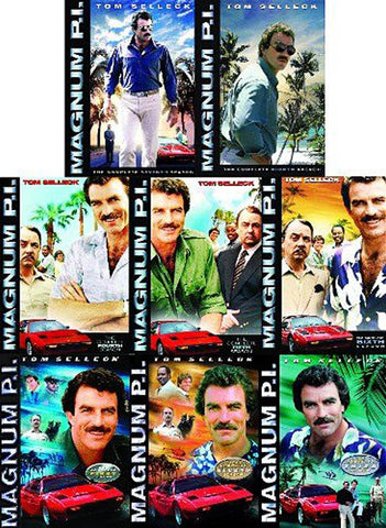 Magnum PI: The Complete Series (Seasons 1-8)(Boxset) DVD Movie