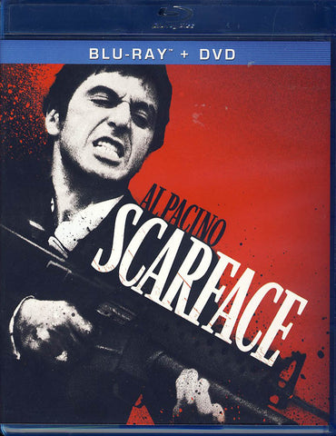Scarface (Blu-ray+DVD) (Blu-ray) BLU-RAY Movie