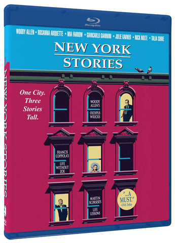 New York Stories (Blu-ray) (Limit 1 copy) BLU-RAY Movie