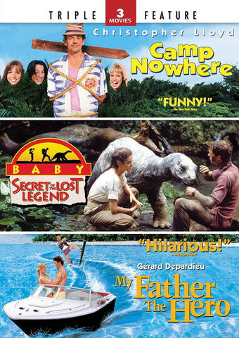Camp Nowhere / Baby: Secret of the Lost Legend / My Father the Hero (3 Movies Triple Feature) DVD Movie