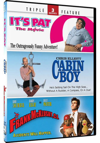 It s Pat / Cabin Boy / Frank McKlusky (3 Movies Triple Feature) DVD Movie