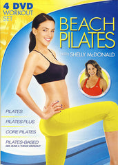 Beach Pilates With Shelly McDonald (4 DVD Workout Set)