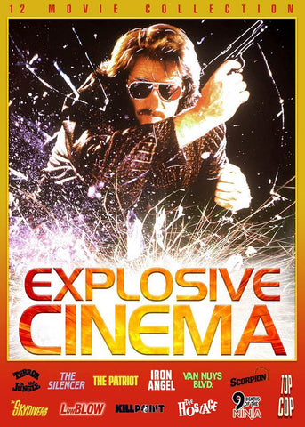 Explosive Cinema (12 Movie Collection) (Boxset) (Limit 1 copy) DVD Movie