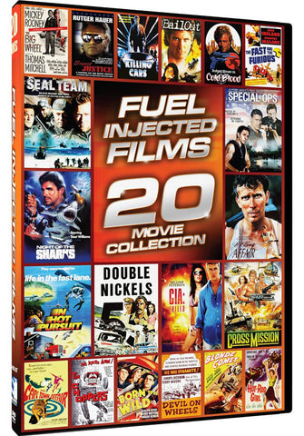 Fuel Injected Films (20 Movie Collection) (Boxset) (Limit 1 copy) DVD Movie