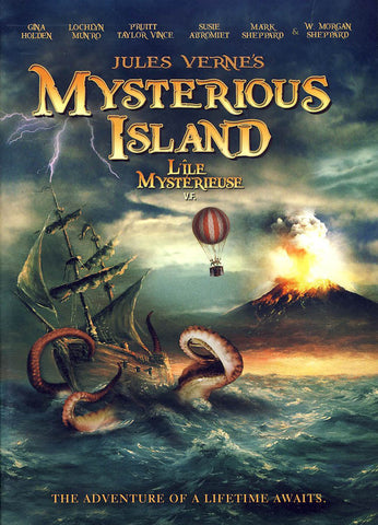 Jules Verne's Mysterious Island (Bilingual) DVD Movie